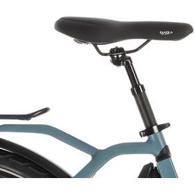Cube Town Sport Hybrid Pro 400 sähköavusteinen kaupunkipyörä Easy Entry , sininen/petrooli